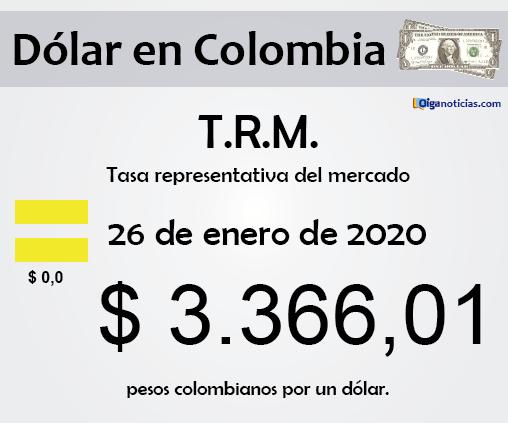 dolar 26ene20
