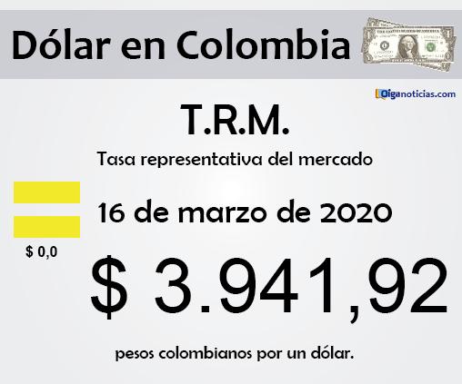 dolar 16mar20