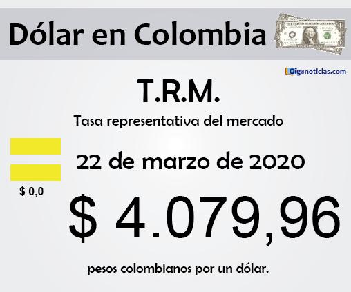 dolar 22mar20