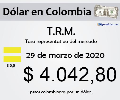 dolar 29mar20