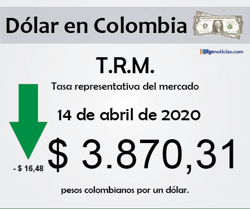 dolar 14abr20
