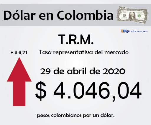 dolar 29abr20