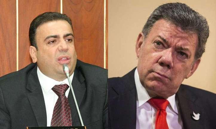 Musa-Besaile-y-Juan-Manuel-Santos