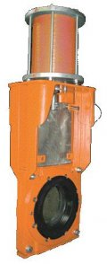 wafer slurry gate valve
