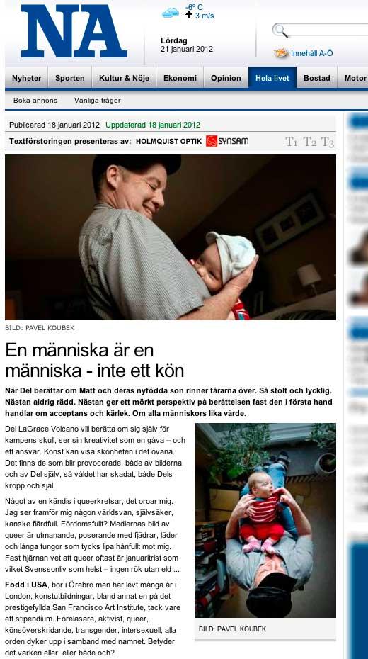 NA: En människa är en människa - inte ett kön - click to read this article.
