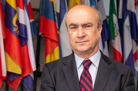 Mariano Jabonero. Secretario General de la Organización de Estados Iberoamericanos para la Educación, la Ciencia, y la Cultura.