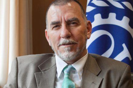 Joaquín Nieto. Director de la Oficina Organización Internacional del Trabajo para España.