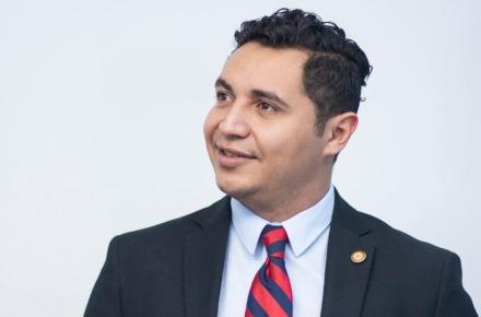 José Grijalva González. Director General del Consejo Nacional de la Juventud de Guatemala.