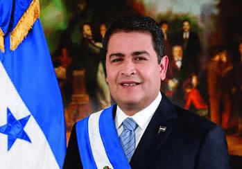 Juan Orlando Hernández. Presidente de la República de Honduras.