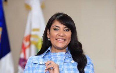 Robiamny Balcácer. Ministra de Juventud de la República Dominicana.