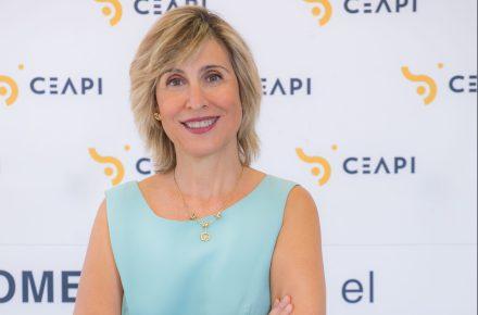 Nuria Vilanova. Presidenta del Consejo Empresarial Alianza por Iberoamérica (CEAPI). Fundadora y presidenta de ATREVIA.