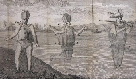 Illustration from La Chapelle's Scaphander (1775)