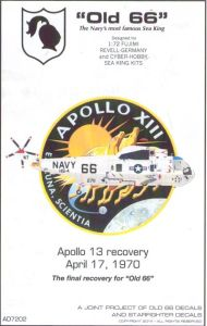 Old 66 Decals Apollo 13 Recovery