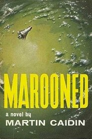 E.P. Dutton hardback cover of Marooned
