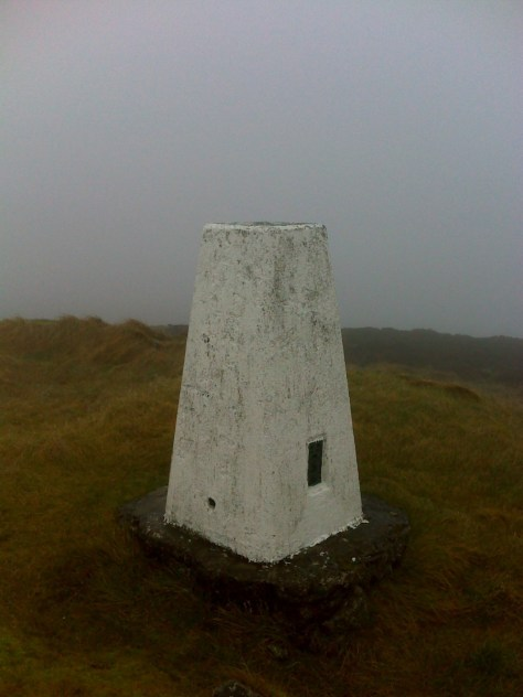 Trig point, King's Seat