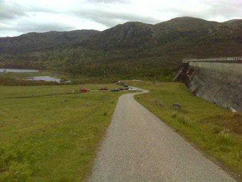 Mullardoch dam