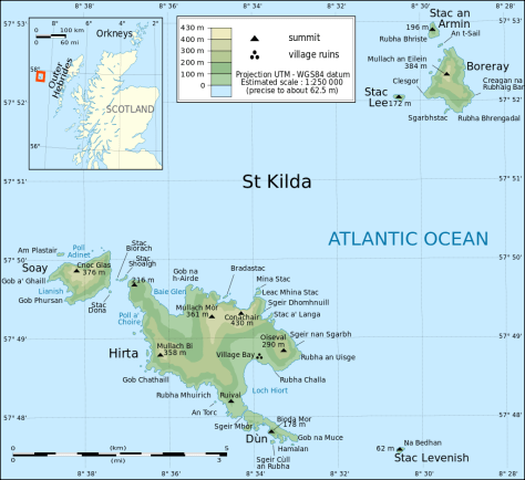 St Kilda map by Eric Gaba