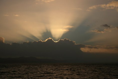 Crepuscular Rays © 2016 Marion McMurdo