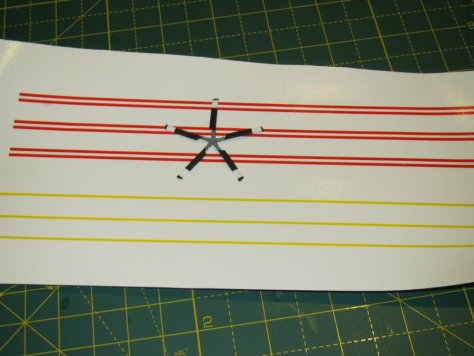 Sea King tail rotor awaits decals
