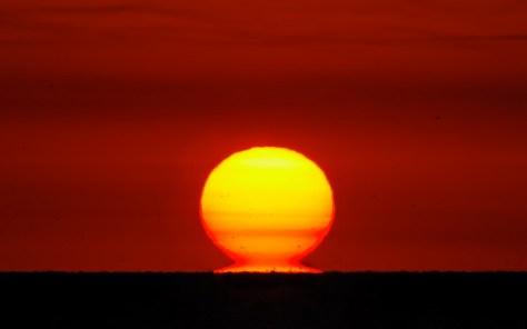 Omega sunset