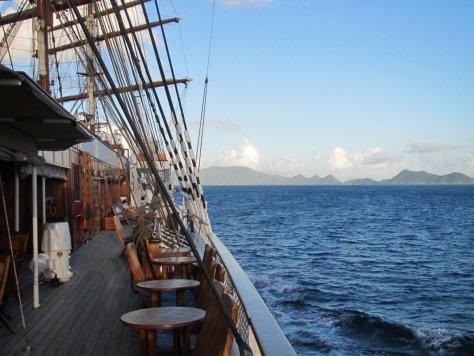 Approaching shore