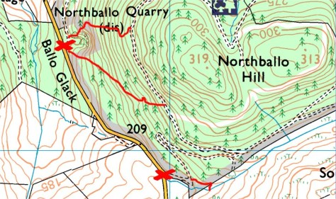 Ballo hills western access