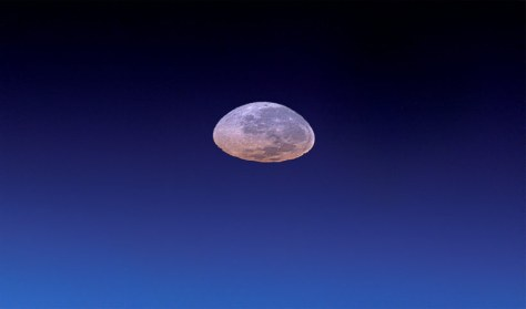 Moonset from ISS