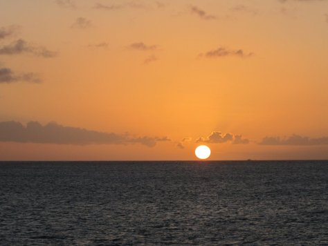 Caribbean sunset