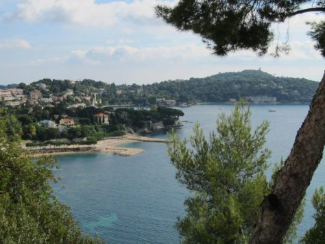 From the road between Cap Ferrat and Villefranche