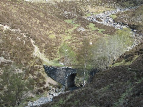 The New Bridge in Gleann Mhairc