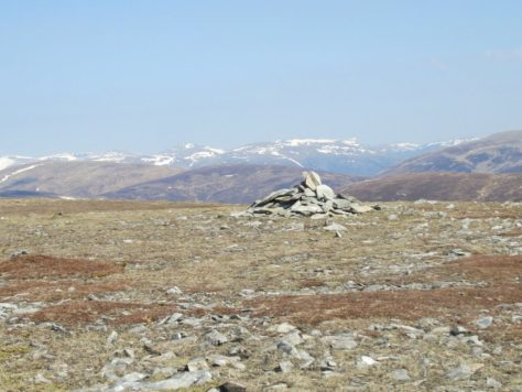 Summit of Beinn Mheadhonach