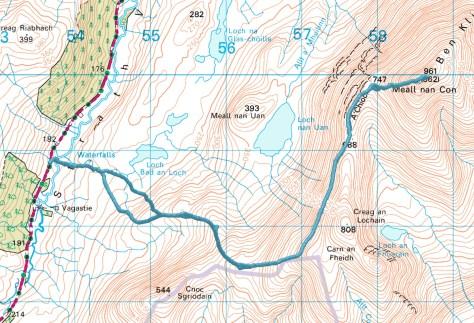 Ben Klibreck route