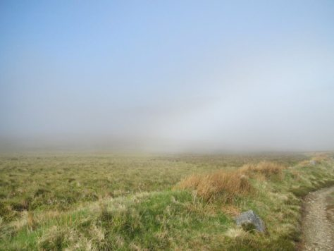 Fogbow on Dead Wife's Hillock