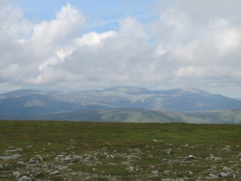 Lochnagar from Driesh