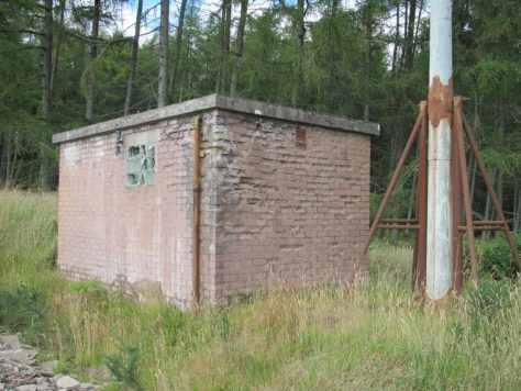 The old wireless station, Fothringham Hill