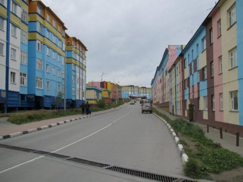 Flat blocks, Anadyr