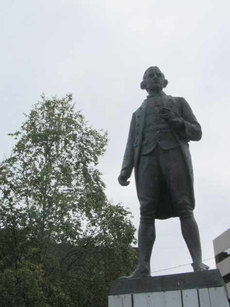 Captain Cook statue, Anchorage