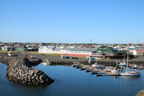 Small boat harbour, Keflavik