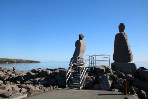 Waterfront statues, Keflavik