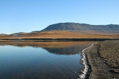 Saltwater Lake Kmo, Wrangel Island