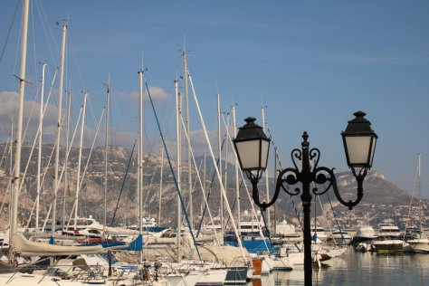 Harbour at Saint-Jean-Cap-Ferrat