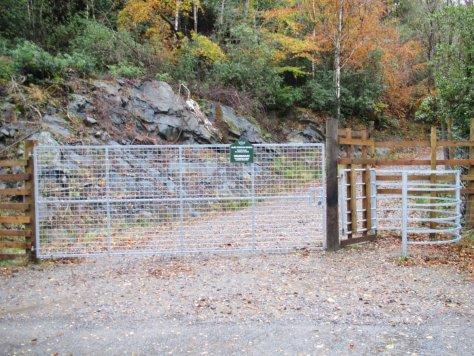 Druimavuic gate