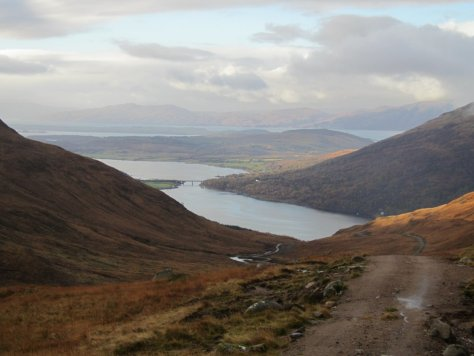 Loch Creran from Coire Buidhe