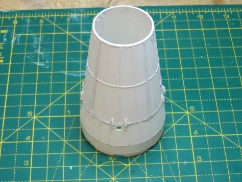 Revell 1/96 Saturn V SLA detailed