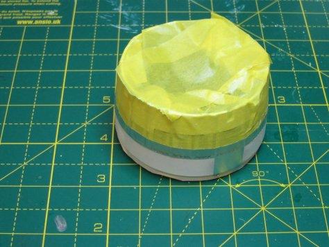 Revell 1/96 Saturn V lower SLA masked