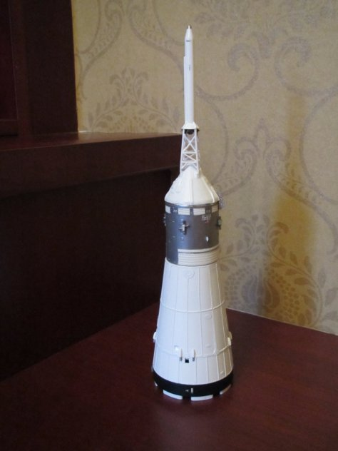 Revell 1/96 Saturn V SLA with RealSpace CSM