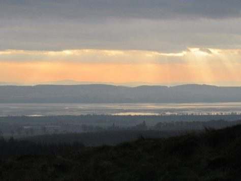 Tay estuary from Blacklaw Hill