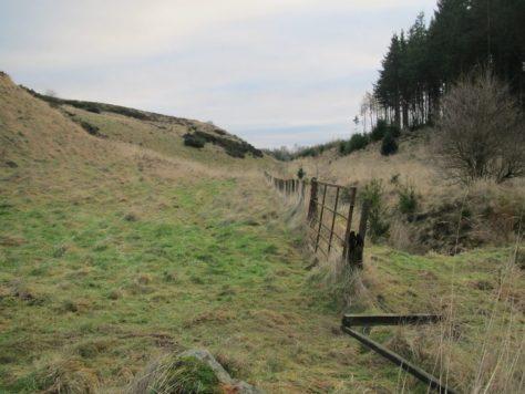 Valley of Blacklaw Burn