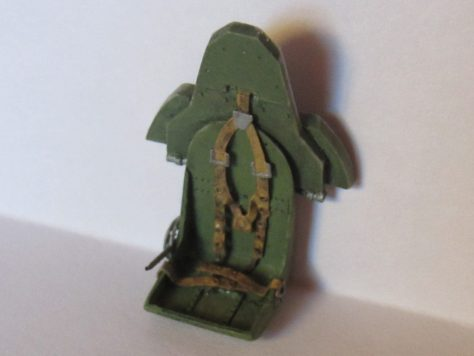 Aires 1/48 Hawker Hurricane cockpit seat