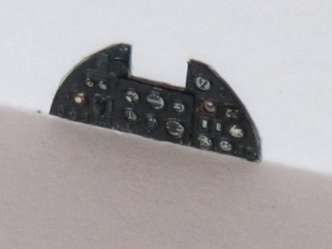 Aires 1/48 Hawker Hurricane instrument panel